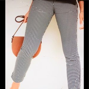 Old Navy Houndstooth Ankle Pants, NWOT